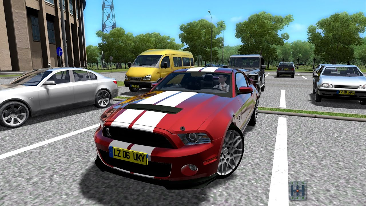 city car driving 1.4 2013 ford mustang shelby gt 500 test | cruise