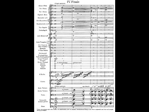 "Mahler's 6th Symphony ""Tragic"" (Audio + Score)"