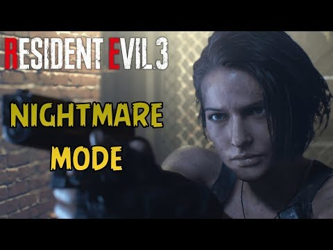 Resident Evil 3 Remake - Nightmare Mode (First Playthrough)