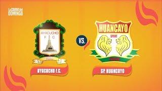 La Carne del Domingo: Ayacucho FC vs. Sport Huancayo | Resumen y goles del partido