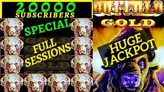 ⭐️20K SUBSCRIBERS SPECIAL ⭐️NEW FORMAT FULL SESSIONS ⭐️MASSIVE HANDPAYS BUFFALO GOLD LIGHTNING LINK