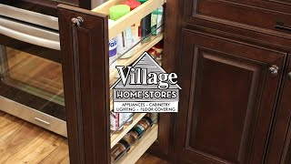 Spice Rack Cabinets in Quad Cities Village Home Stores