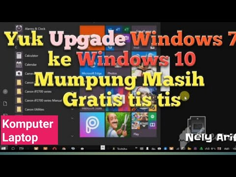 Cara Upgrade Windows 7 Ke Windows 10 Gratis Tis Tis...