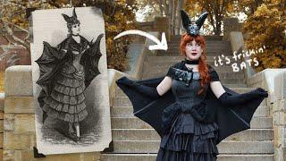 I Tried Recreating Tнis 1800's Bat Costume! 🦇