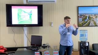 Презентация с Дня открытых дверей в жилом комплексе