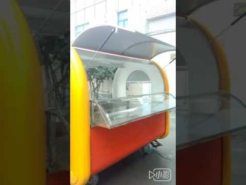 Hot Dog Cart Coffee Van Ice Cream Kiosk Mobile Food Trailer Street Fast Food Truck
