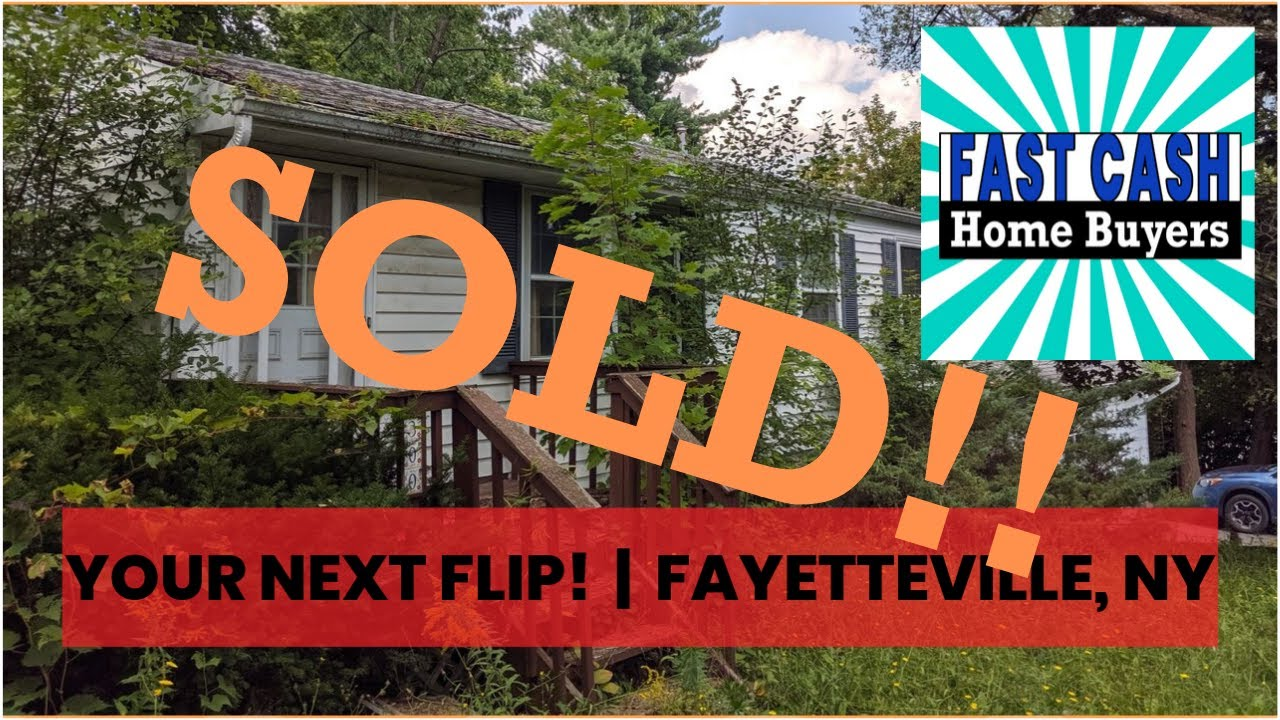 2/1 In Magnificent Fayetteville, NY! | Fast Cash Home Buyers