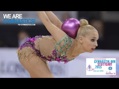 2015 Rhythmic Worlds, Stuttgart (GER) - Highlights 4, All-Around Final (group A)