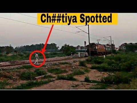 hu##tiya Spotted!! During Rf .!!13256/Chandigarh - Patliputra Express