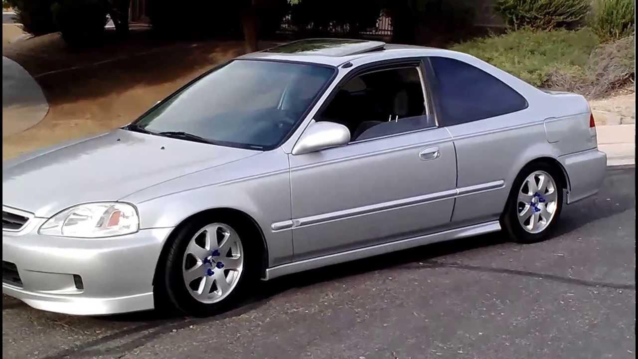 99 Civic Sedan: Vsm Em1 Coupe 99