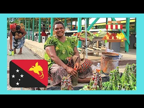 PAPUA NEW GUINEA, the MARKET OF KOKI VILLAGE (outside PORT MORESBY)