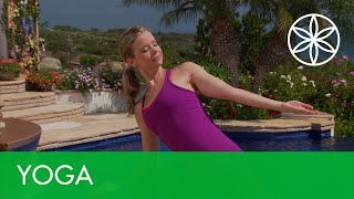 Yoga for Beginners with Chrissy Carter - Energize | Yoga | Gaiam
