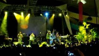 Zona Ganjah - Irie en vivo  Calle 2  Idea Musica Real  11/Octubre/09