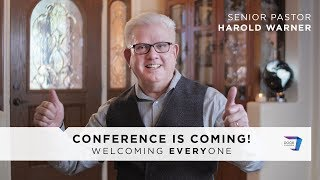 Conference is Coming! | A Message From Ps. Harold Warner | June 10