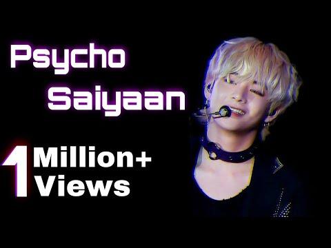 BTS KIM TAEHYUNG - Psycho Saiyaan || Btsxbollywood FMV