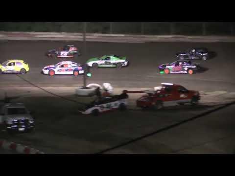 Hilltop Speedway 4 Cylinder Feature 6-21-19