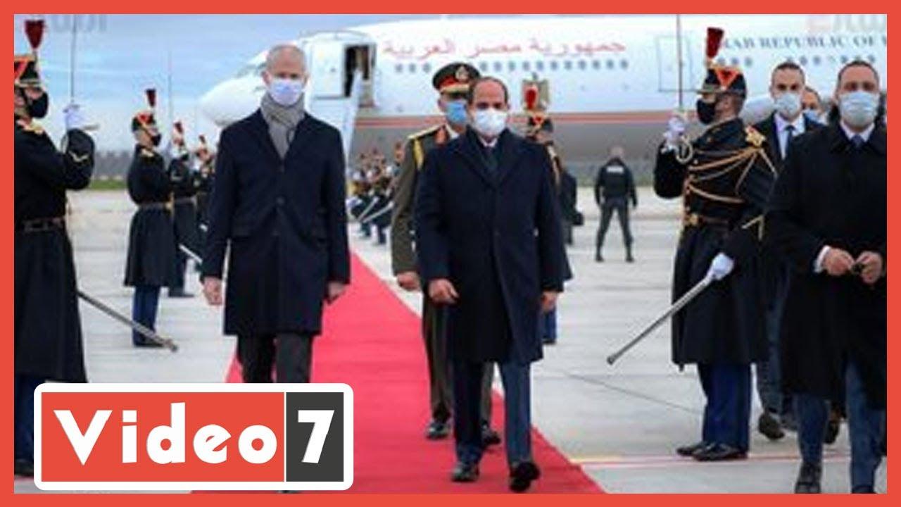 عاجل ? الرئيس السيسي يصل مقر إقامته بالعاصمة الفرنسية للمشاركة فى مؤتمري دعم اقتصاد السودان وإفريقيا  - نشر قبل 22 ساعة