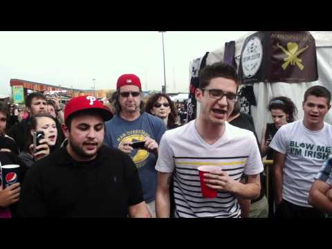 Man Overboard - Love Your Friends, Die Laughing (Acoustic) Bamboozle 05-01-2011