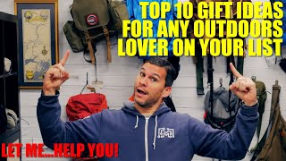 Top 10 Gift Ideas For Outdoor Lovers On Your List!