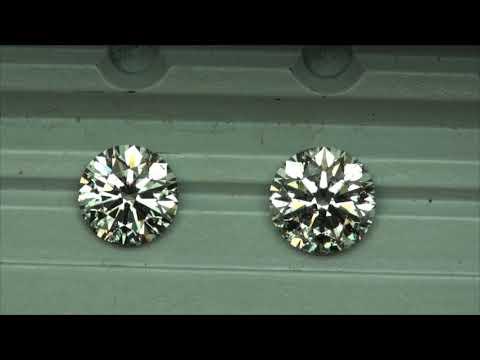 Round H SI2 diamond comparison