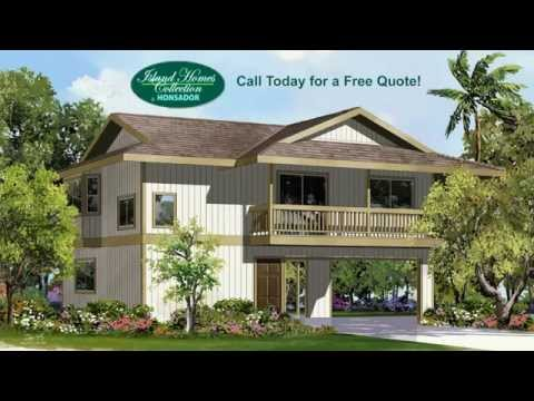 Honsador Lumber: Island Homes Collection