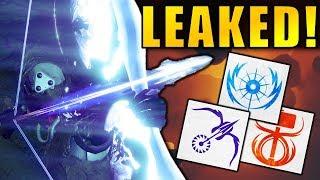 Destiny 2: LEAKED TTK SUBCLASS PERKS! Nightstalker, Sunbreaker, Stormcaller Revealed!