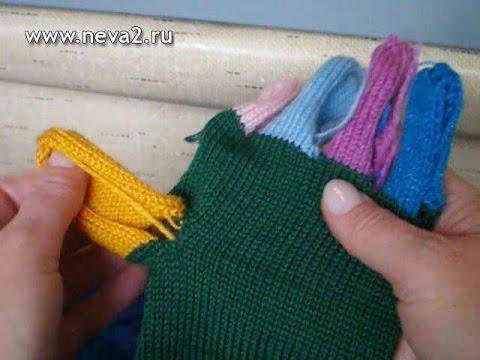 Как вязать перчатки. Часть 2.