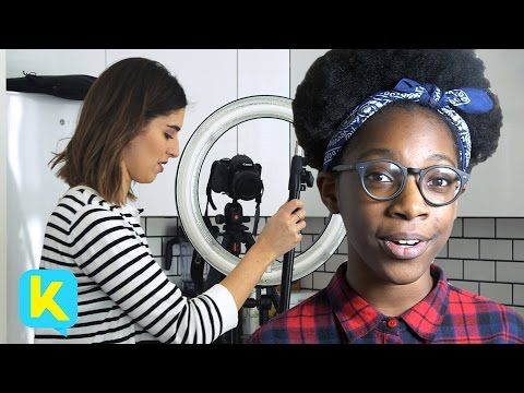 Kidspiration Goes Behind the Scenes with Blogger + YouTuber Lily Pebbles!