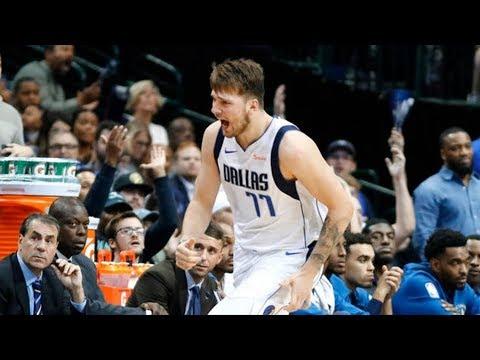 Luka Doncic 26 Pts! Mavs Fans Chant Jimmy Butler! 2018-19 NBA Season