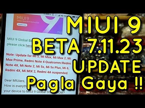 Miui 9 Beta Update 7.11.23 Changelog | Pura Pagla Gaya hai Bhai | Hindi - हिंदी