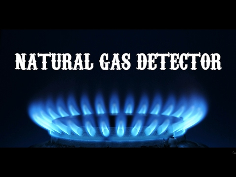 Portable Natural Gas Detector | DIY Smartphone Gadget