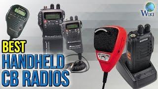 6 Best Handheld CB Radios 2017