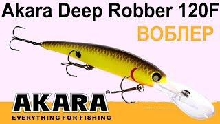 Обзор воблера для троллинга AKARA Deep Robber 120F