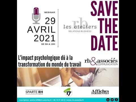 MONDE DU TRAVAIL 2021 [Invitation] 29.04.21