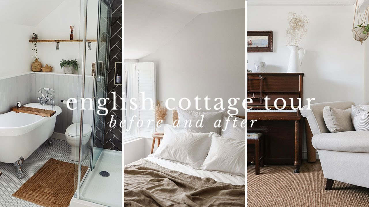 Before & After House Tour   English 17th Century Cottage   Vlogmas Day 5