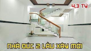 Bán Nhà Gò Vấp | Nhà đẹp 2 lầu xây mới cực đẹp giá chỉ 4,3 tỷ Phạm Văn Chiêu Gò Vấp