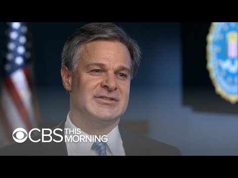 "FBI director: China is ""top priority"" in counterintelligence mission"