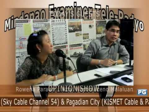 Mindanao Examiner Tele-Radyo Nov. 21, 2012 - Today's Guests: NUJP and Right To Know Now Coalition