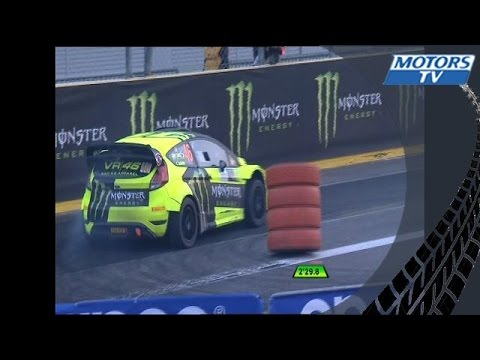 Monza Rally Show 2015 : Valentino Rossi Loses Masters Show Semifinal