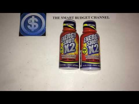 Energy Shot X2 Review (Dollar Tree Item)