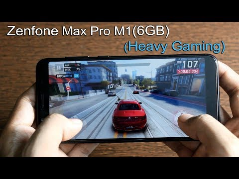 Zenfone Max Pro M1 (6GB) Heavy Games Review (Asphalt 9, PUBG, Crossfire.. more)