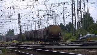 Rangierbahnhof Köln Gremberg  Aufnahmen in der Nähe des Stellwerkes Teil 2/2
