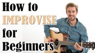 كيفية إنشاء سهلة الألحان (الارتجال للمبتدئين الدرس الغيتار)