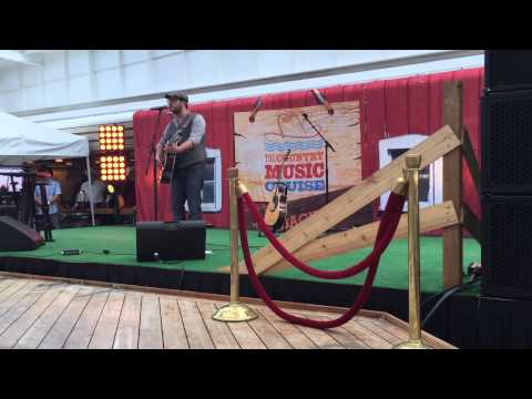 FABIO GUALERZI AT THE COUNTRY MUSIC CRUISE 2015  COUNTRY SUPERSTAR FINALE