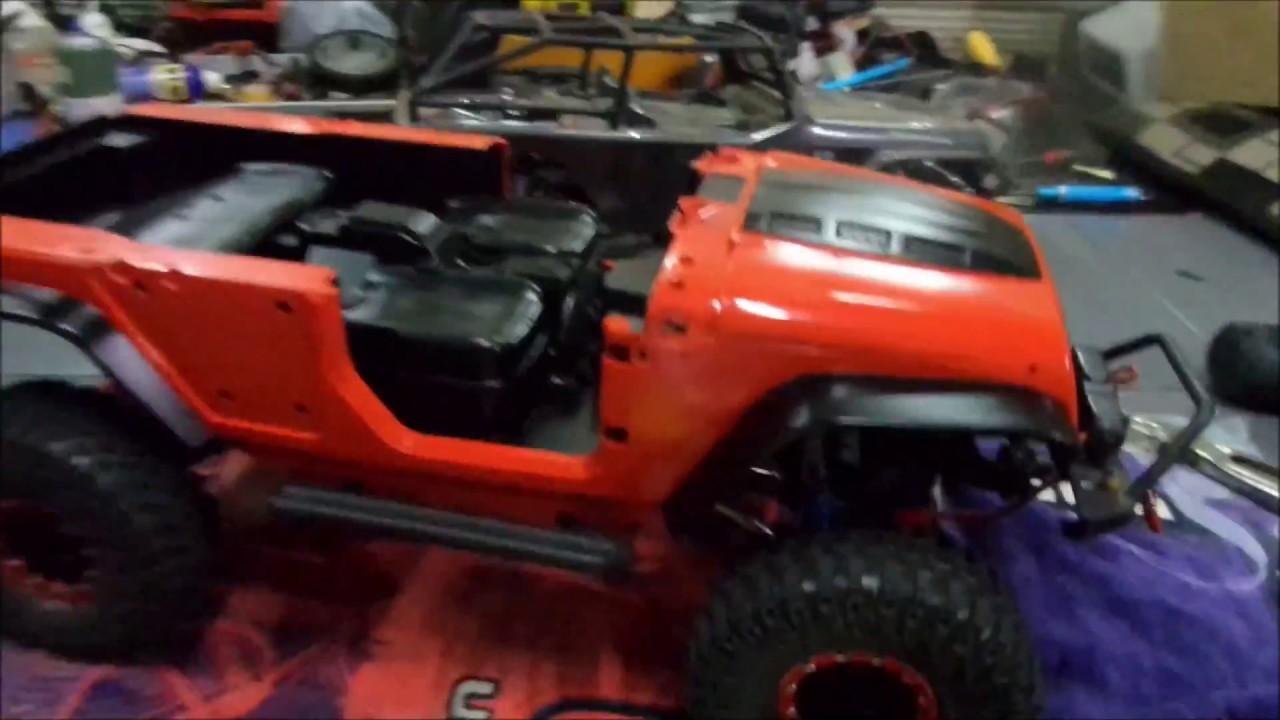 KYX Truck Hard Body Shell Canopy Jeep Wrangler Rubicon Topless Axial SCX10 & KYX Truck Hard Body Shell Canopy Jeep Wrangler Rubicon Topless ...