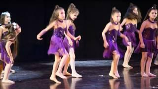 Aytunc Bentürk Dans Akademi Gösteriler 2016- 4 MODERN DANS MOR MENEKŞELER