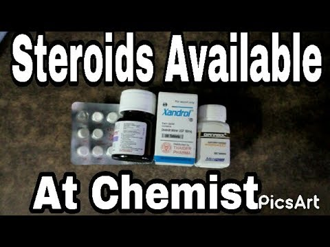 Steroids Available At An Indian Chemist