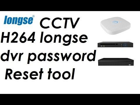 H264 longse dvr password reset tool - YouTube