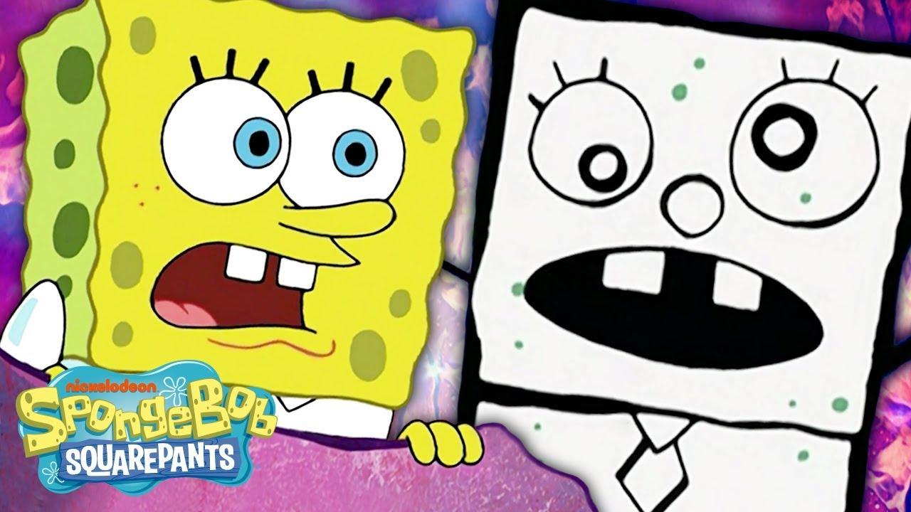 Download DOODLE BOB Stars in FrankenDoodle ✏️ in 5 Minutes! | SpongeBob