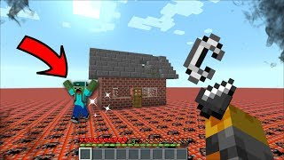 ULTIMATE PRANK WARS WITH MARK FRIENDLY ZOMBIE!! HOW MUCH TNT TO BLOW UP HIS HOUSE MOD !! Minecraft